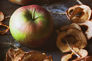 apple dried
