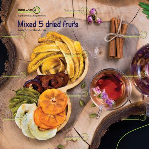 Mixed 5 dried fruits